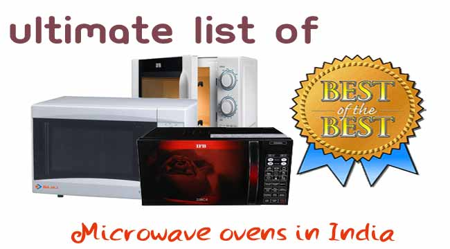 Ultimate list of ovens in India