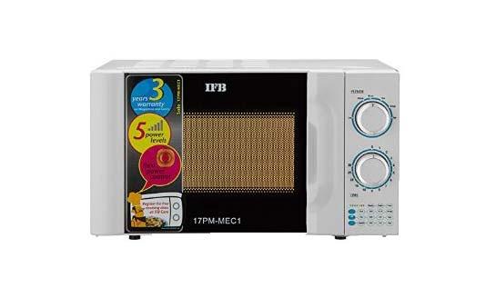 IFB 17PM MEC 1, the best ifb oven under 5000 rupees