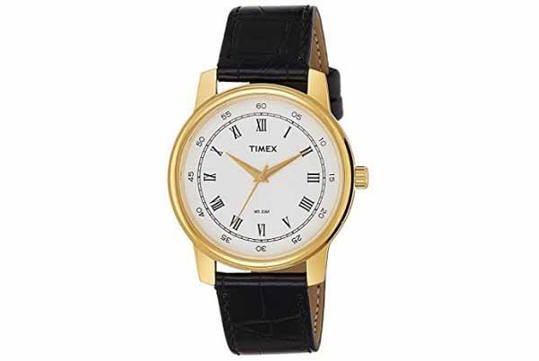 Timex professional watch with black strap