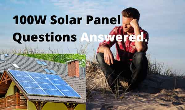 Doubts about 100w solar panel answered