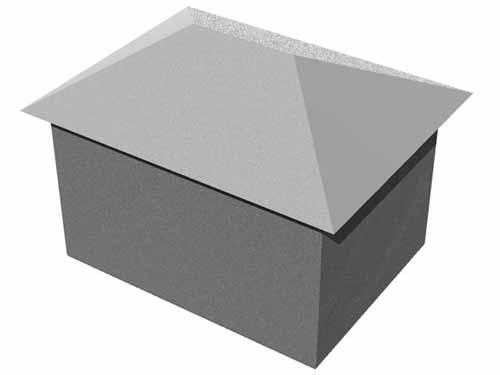 kodi- hip style aluminium roofing